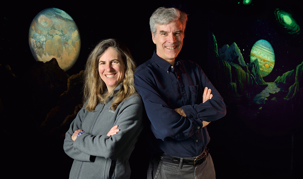 MSU Department of Physics and Astronomy Professors Megan Donahue and Mark Voit